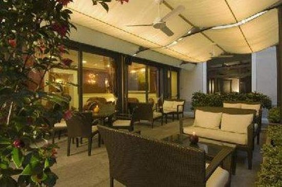 Hotel Felice Casati: Patio Lounge
