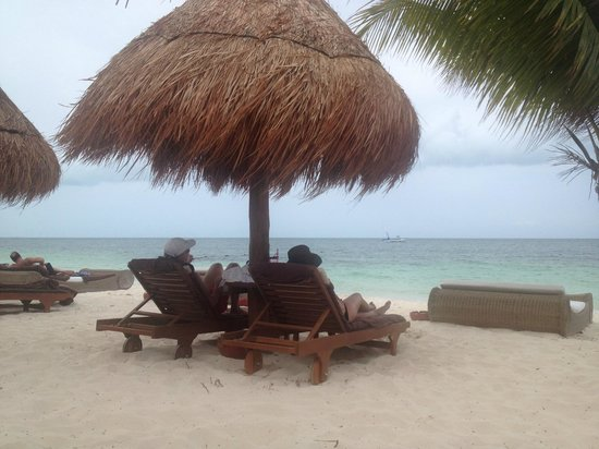 Excellence Playa Mujeres: Last day on the Beach