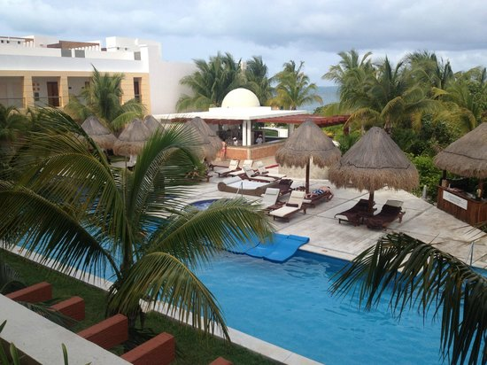 Excellence Playa Mujeres: View from room - private pool area