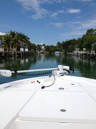 Cudjoe Key, Floride : Return to the Marina