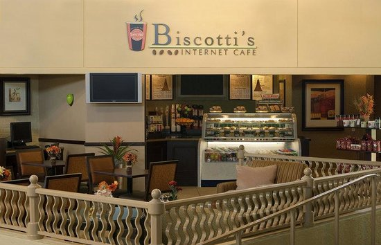 Crowne Plaza Jacksonville Airport Hotel: Biscotti's Internet Cafe & Business Center
