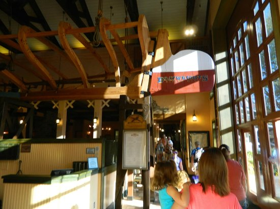 Disney&#39;s Port Orleans Resort - Riverside: restaurant