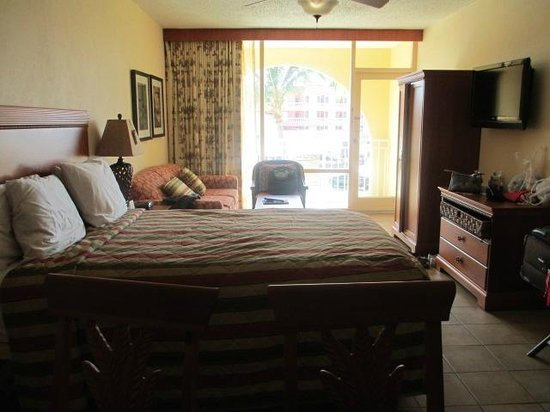 La Cabana Beach & Racquet Club: Room 317/B.