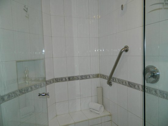 Aventura Spa Palace: shower