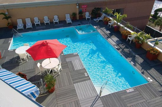Boardwalk Inn Pool Kemah TX