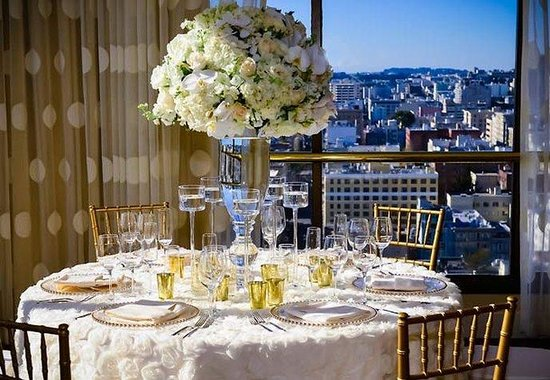 San Francisco Marriott Union Square: Wedding Setup