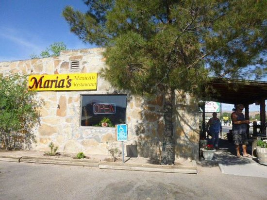 Truth or Consequences, Nuevo Mexico: A great little restaurant: Maria's!