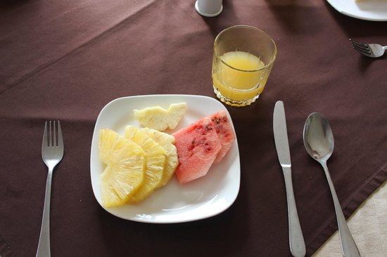 Cassia Lodge: Breakfast - fruits