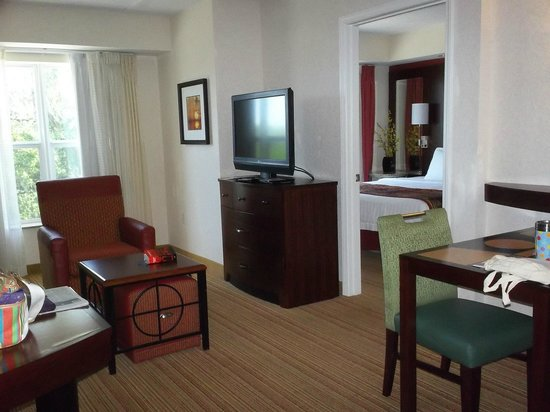 Residence Inn Amelia Island: One bedroom suite