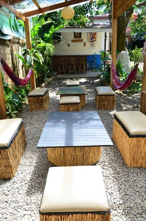 Grecia, Costa Rica: patio