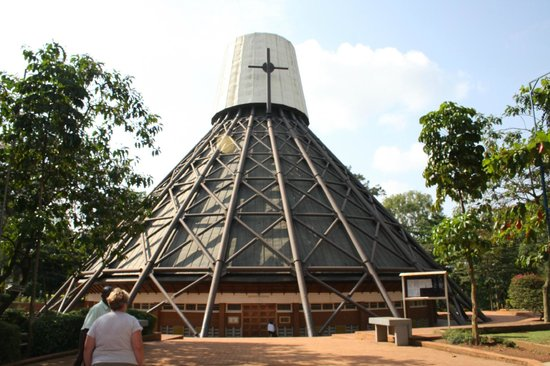 Cassia Lodge: Church of the Martyrs - well worth a visit
