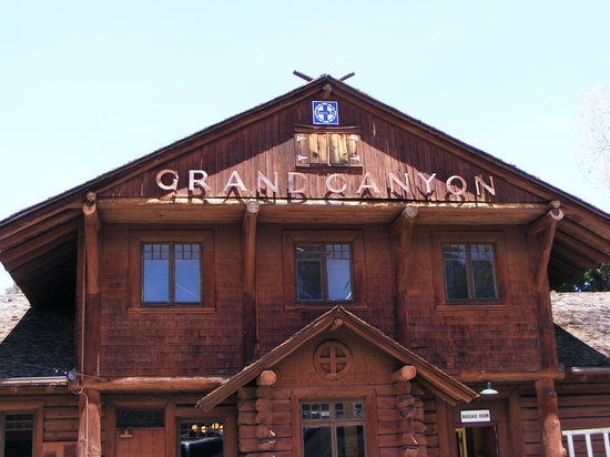 Williams, AZ: depot at the Grand Canyon