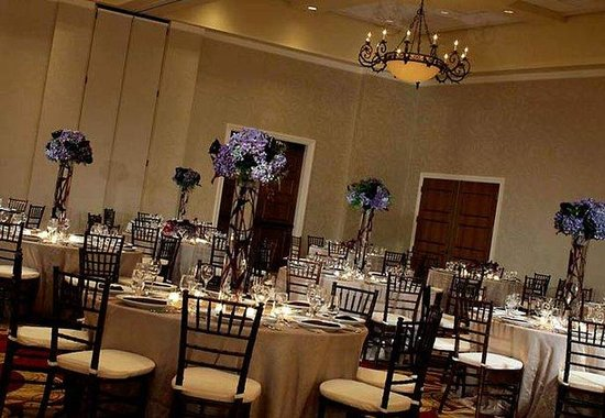 Renaissance Tampa Hotel International Plaza: Costa Del Sol Ballroom – Wedding Setup
