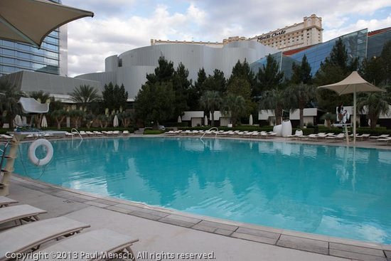 ARIA Resort &amp; Casino: One of the pools