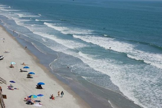 Garden City Beach, Carolina Selatan: Beautiful blue water!
