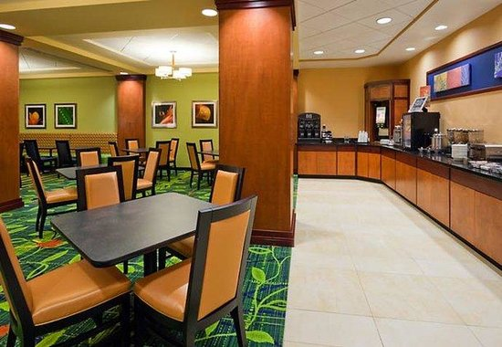 Fairfield Inn & Suites Indianapolis Downtown: Breakfast Area