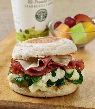Courtyard Hanover Whippany: The Bistro Healthy Start Breakfast Sandwich