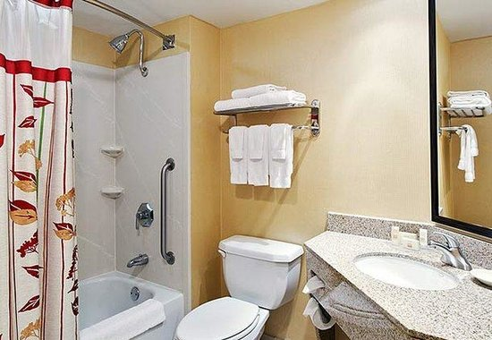 Courtyard by Marriott Athens Downtown: Suite Bathroom