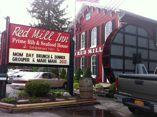 Williamsville, NY: Old Red Mill Inn