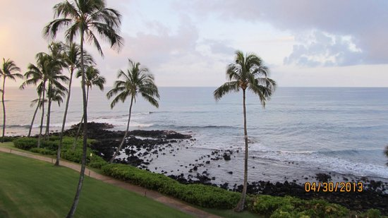 Sheraton Kauai Resort: The view from Room 1434