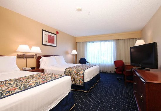 Courtyard Houston Intercontinental Airport: Queen/Queen Guest Room