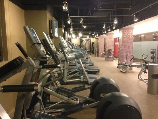 Grand Hyatt New York: gym on 36th floor