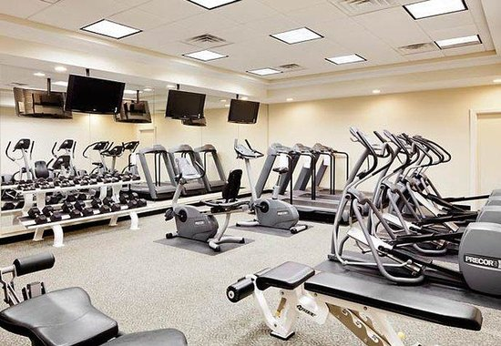 Courtyard by Marriott Portsmouth: Fitness Center