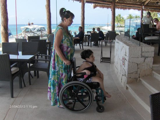 Presidente Inter-Continental Cozumel Resort & Spa: Great Handicap Access All Over Hotel