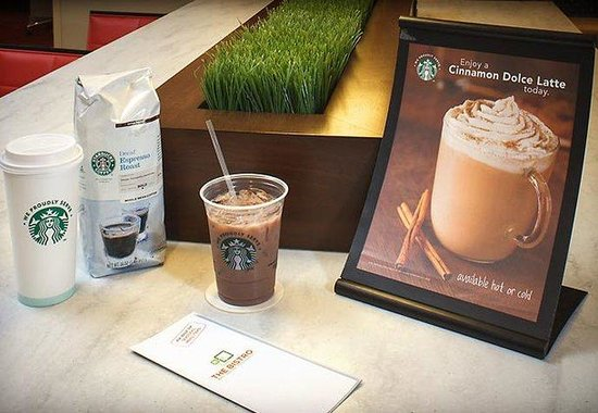 Courtyard by Marriott Jacksonville Butler Boulevard: Starbucks Coffee
