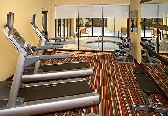 Courtyard by Marriott Jacksonville Butler Boulevard: Fitness Center