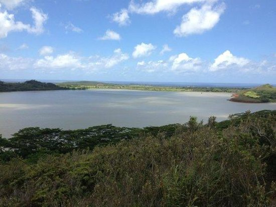 Koloa, HI: View of Waita Reservoir