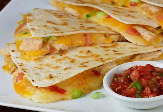 Westlake, OH: The Bistro Grilled Chicken Quesadilla