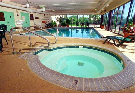 Fairfield Inn Ann Arbor: Pool &amp; Whirlpool