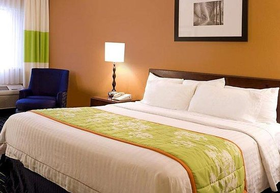 Fairfield Inn Plymouth Middleboro: King Guest Room