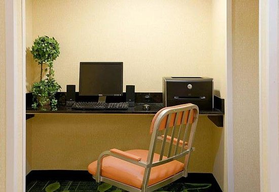 Fairfield Inn Plymouth Middleboro: Business Center