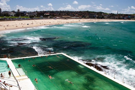 Bondi Beach, Australien: View 1