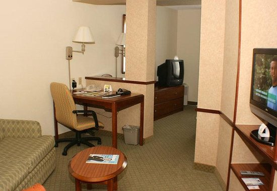 Fairfield Inn & Suites Boca Raton: Suite Living Area
