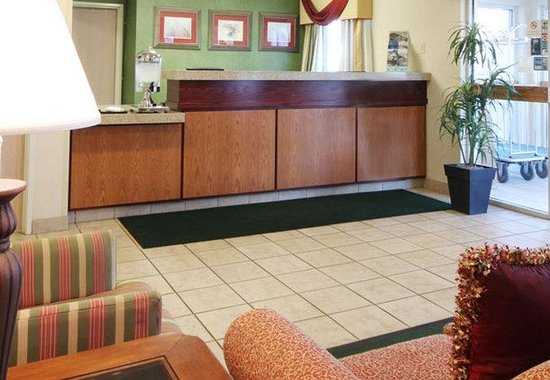 Fairfield Inn Bozeman: Front Desk