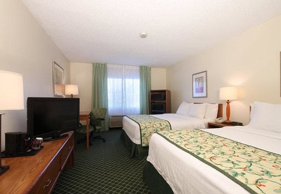 Fairfield Inn Bozeman: Queen/Queen Guest Room