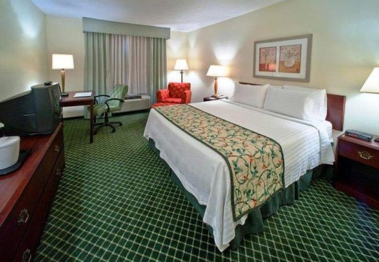 Fairfield Inn by Marriott Huntsville: King Guest Room