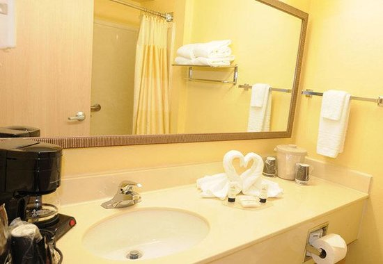Fairfield Inn by Marriott Huntsville: Guest Bathroom