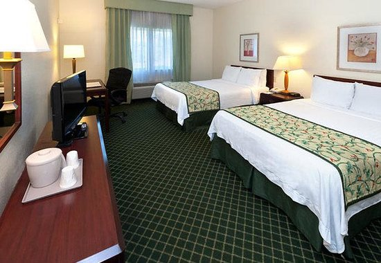 Fairfield Inn by Marriott Tallahassee North / I-10: Double/Double Guest Room