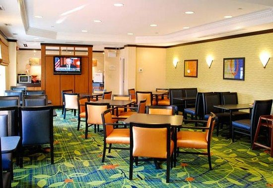 Fairfield Inn Washington Dulles Airport South/Chantilly: Breakfast Room