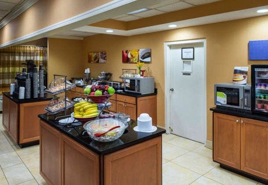 Fairfield Inn Atlantic City North: Breakfast Area