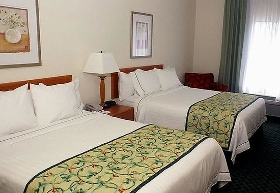 Fairfield Inn &amp; Suites Lafayette South: Queen/Queen Guest Room