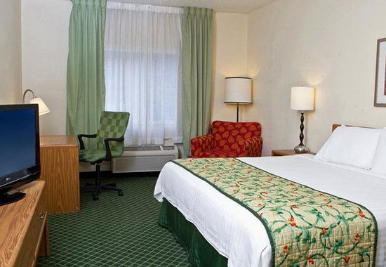 Fairfield Inn Ashland: King Guest Room