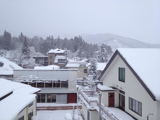 Hakuba Springs Hotel: The view from our room