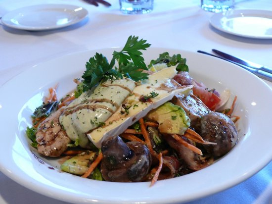 Wanganui, Yeni Zelanda: Warm Chicken salad