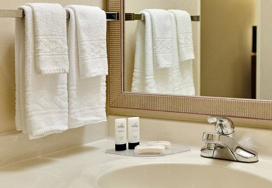 Fairfield Inn Chicago Southeast/Hammond: Guest Bathroom