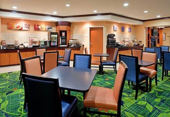 Fairfield Inn & Suites Houston I-10 West / Energy Corridor: Breakfast Area